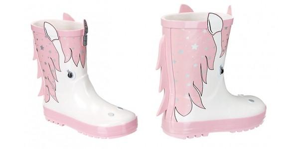 3D Unicorn Children's Wellies £16 @ John Lewis