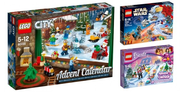 Where To Buy 2017 LEGO Advent Calendars In The U.K.