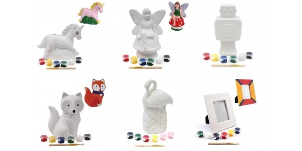 Half Price Paint Your Own Ceramics @ Hobbycraft (Expired)