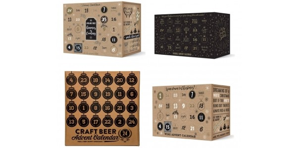Gin, Wine, Prosecco and Beer Advent Calendars Are Coming!