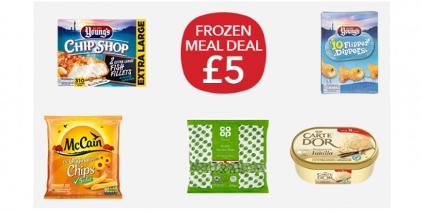 Frozen Meal Deal £5 @ Co-op
