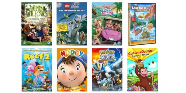 Two Children's DVD's £4.50 (With Code) @ Zoom