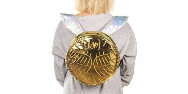 Coming Soon: Harry Potter Golden Snitch Backpack @ TruffleShuffle