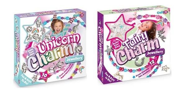 Unicorn or Fairy Charm Jewellery Craft Sets Now £9.74 @ Very