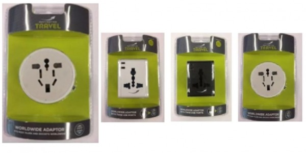 Urgent Recall: Travel Adaptors Sold At WH Smith