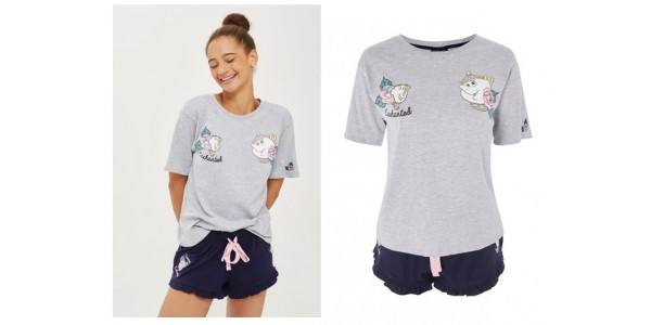 Ladies Beauty and the Beast Pyjama Set Available @ Topshop