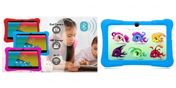 7 Inch 4GB Kids Tablet With Heavy Duty Case £36.98 Delivered @ Go Groopie