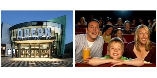 THREE Odeon Cinema Tickets For £12.75 (With Code) @ Groupon