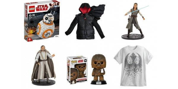 NEW Star Wars: The Last Jedi Range Launched @ The Disney Store