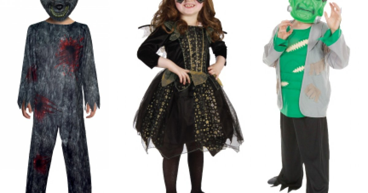 New In Halloween Costumes Decorations Home Bargains