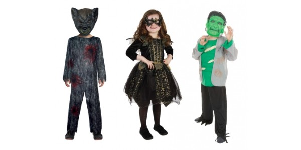 New In Halloween Costumes & Decorations @ Home Bargains