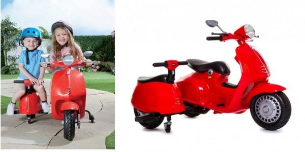 12v Retro Scooter & Side Car £99.99 @ Studio