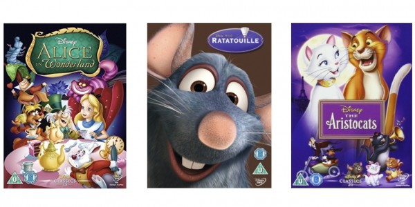 Selected Disney DVDs £5 Or Less @ Amazon