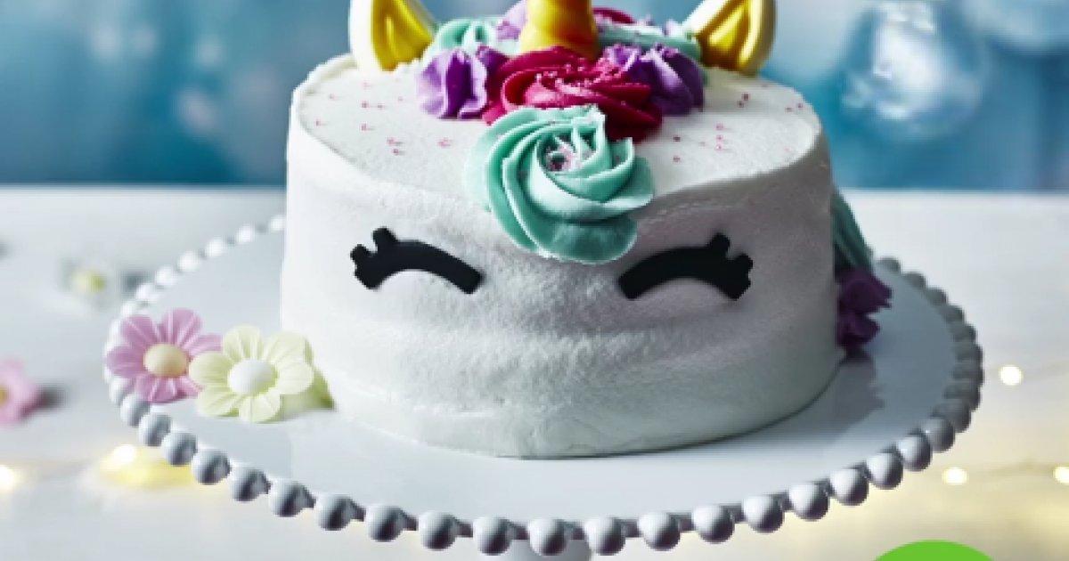 New Unicorn Celebration Cake 10 Asda