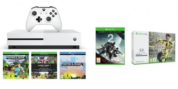 Xbox One S 500GB Console Bundles With Destiny 2 From £179.99 @ Argos