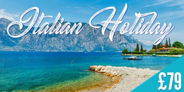2-3 Night Hotel Stay With Breakfast & Flights To Lake Garda, Italy From £79 Per Person @ Go Groopie
