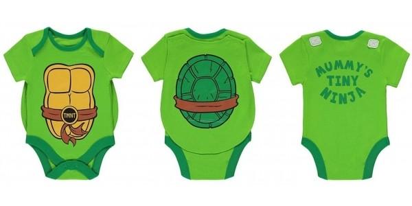 Teenage Mutant Ninja Turtles Bodysuit With Cape £3 @ Asda George
