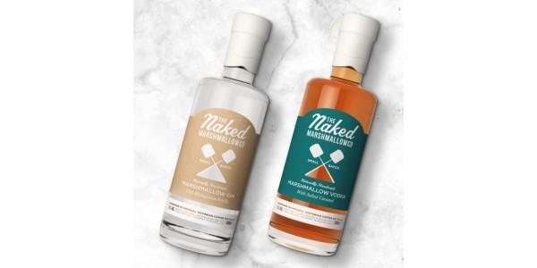 Vanilla Bean Marshmallow Gin or Salted Caramel Marshmallow Vodka Available @ Firebox
