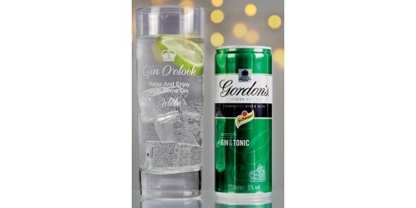 Personalised Gin Glass Set Now £9.99 (was £17.99) @ Studio