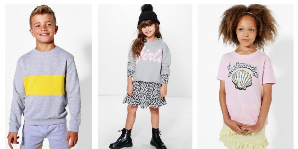 Up To 70% Off Children's Clothing @ Boohoo