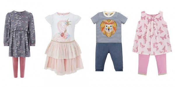 Up To 30% Off Selected Seasonal Children's Clothing @ Monsoon