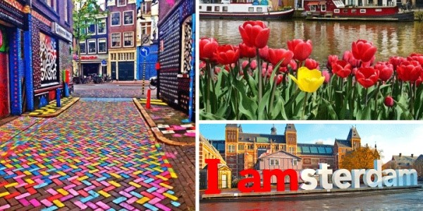 Amsterdam: Up to 4 Nights at a Choice of Hotels With Flights From £69 Per Person @ Groupon