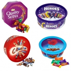 Chocolate Sharing Tubs 2 for £7 @ Tesco