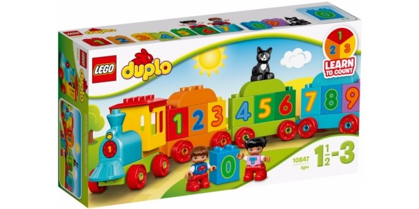 Lego Duplo Number Train £9 @ Asda George