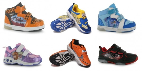 Character Light Up Kids' Trainers From £6.50 @ Sports Direct