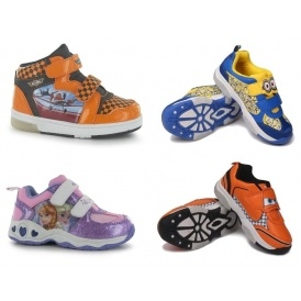 Character Light Up Kids' Trainers From £6.50