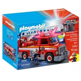 1/2 Price Playmobil City Action Fire Engine