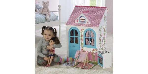 Personalised Large Dolls House & Accessories £39.99 @ Studio