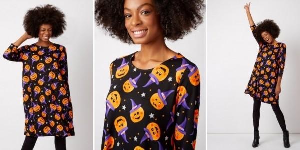 Women's Halloween Pumpkin Dress £12.50 @ Asda George