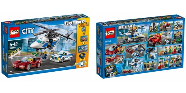 Lego City Police Value Pack £35 (was £50) @ Asda George