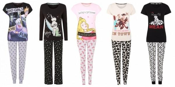 New Disney Women's Pyjamas £15 Each @ Asda George