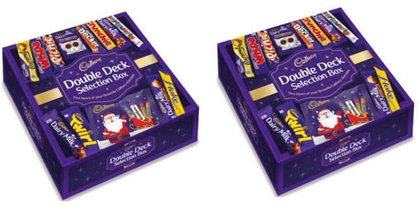 Cadbury Double Deck Selection Box £15 @ Cadbury Gifts Direct