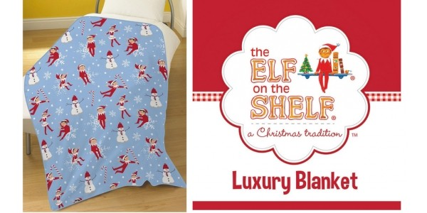 Elf On The Shelf Fleece Blanket £11.99 Delivered @ Price Right Home