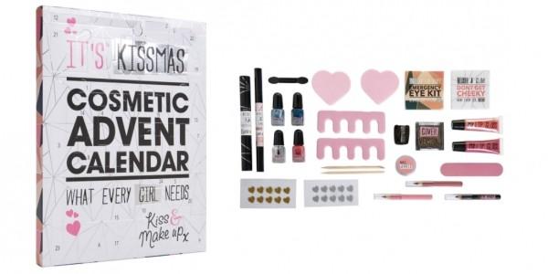 It's Kissmas Beauty Advent Calendar £5 @ Wilko