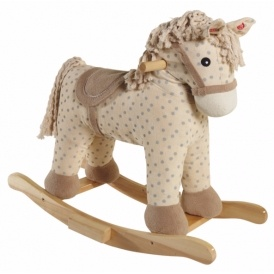 wooden rocking horse 20 was 30 asda george. Black Bedroom Furniture Sets. Home Design Ideas