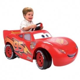 cars lightning mcqueen 3 6v electric car 99 studio. Black Bedroom Furniture Sets. Home Design Ideas
