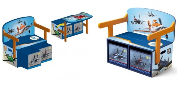 Disney Planes Convertible Desk With Storage £24.90 Delivered @ Amazon Seller: Big Red Warehouse