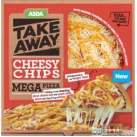 Cheesy Chip Mega Pizza Available Soon @ Asda