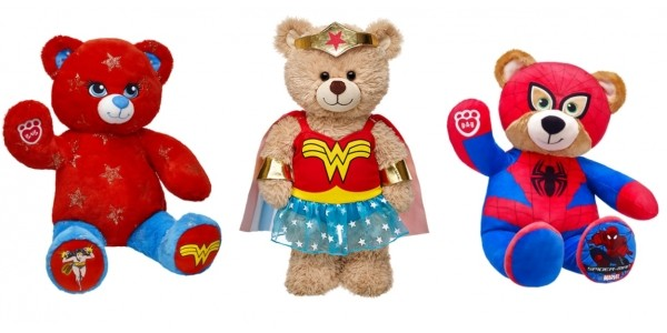 Up To 70% Off Hero Items @ Build-A-Bear