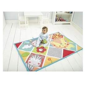 baby carousel activity play mat just tesco direct. Black Bedroom Furniture Sets. Home Design Ideas