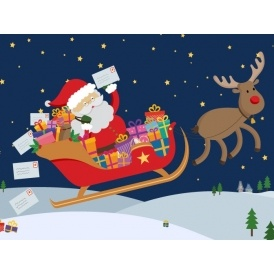 personalised letter from santa with a donation to the nspcc