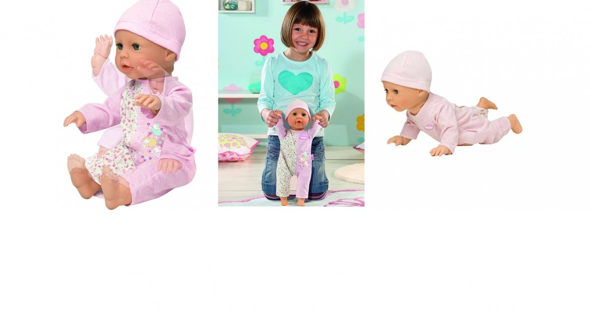 Baby Annabell Learns To Walk Doll £34.98 @ Toys R Us