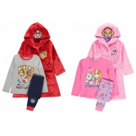 Character Dressing Gown & Pyjama Sets From £14 @ Asda George