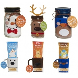 Christmas mason jar biscuit pocket mug hot chocolate gifts 5 christmas mason jar biscuit pocket mug hot chocolate gifts 5 each wilko negle Images