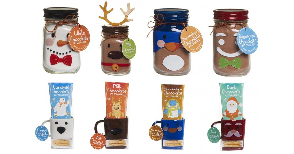 christmas mason jar biscuit pocket mug hot chocolate. Black Bedroom Furniture Sets. Home Design Ideas