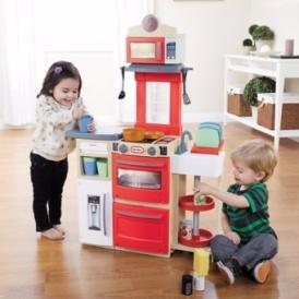 little tikes red cook 39 n store kitchen 30 asda george. Black Bedroom Furniture Sets. Home Design Ideas